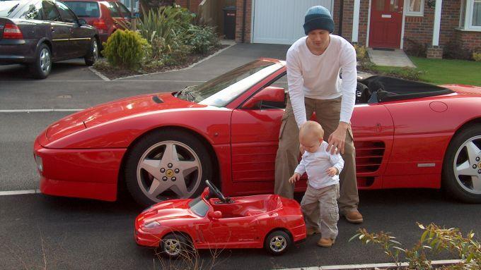 La passione per Ferrari comincia da piccoli