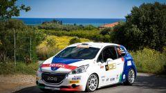 La Peugeot 208 R2 del Team Peugeot Sport Italia