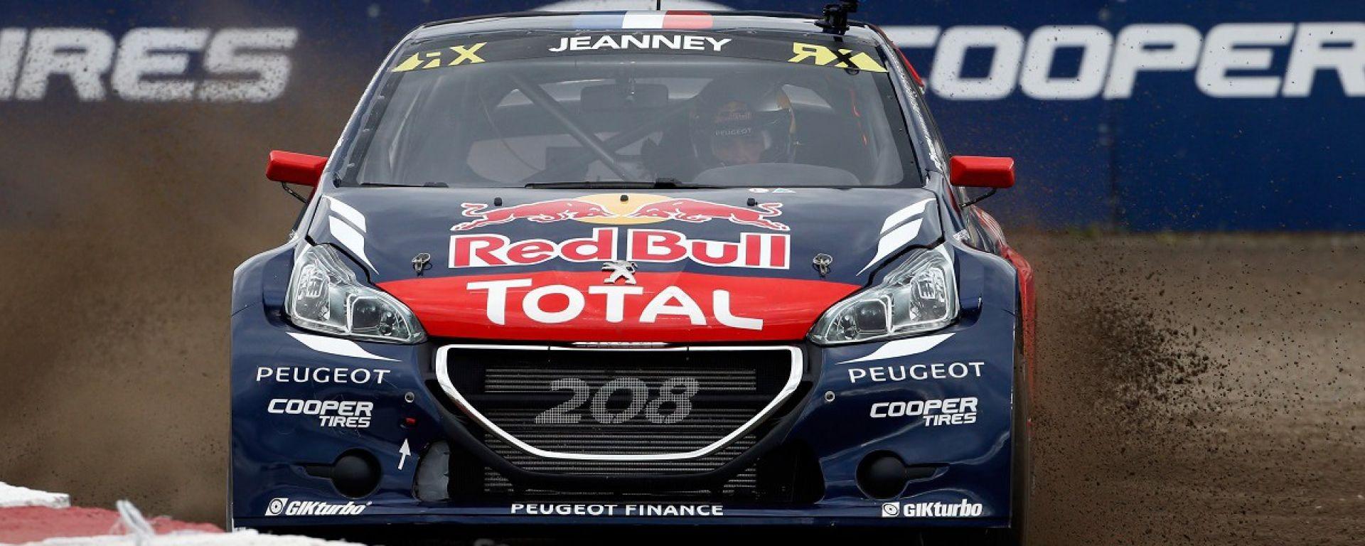 La Peugeot 208 WRX di Timmy Hansen