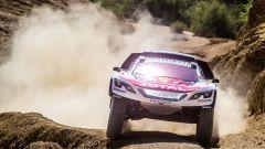 La Peugeot 3008 DKR in azione nel Rally del Marocco 2017