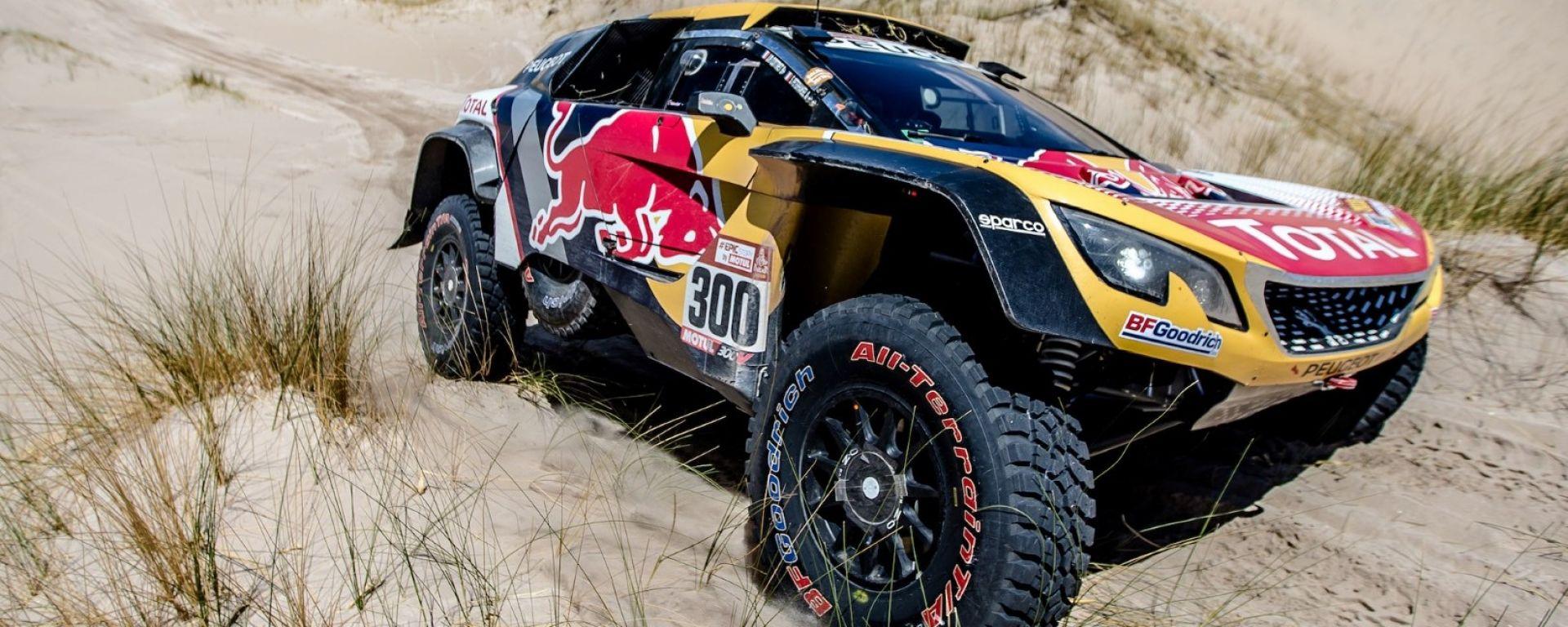 La Peugeot 3008 DKR Maxi del team Peugeot Sport Total