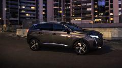 La Peugeot 3008 durante la prova del Night Vision