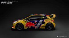 La Peugeot di Kevin Hansen - Rallycross 2018