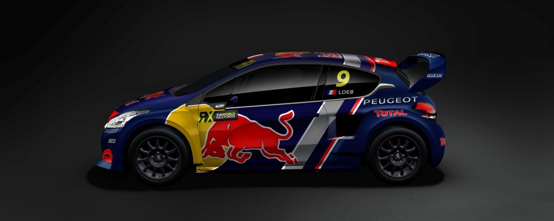 La Peugeot di Sebastien Loeb - Rallycross 2018