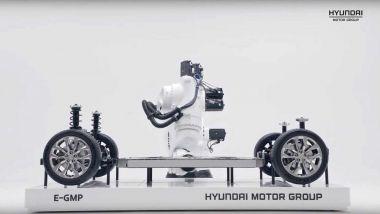 La piattaforma E-GMP del Gruppo Hyundai-Kia