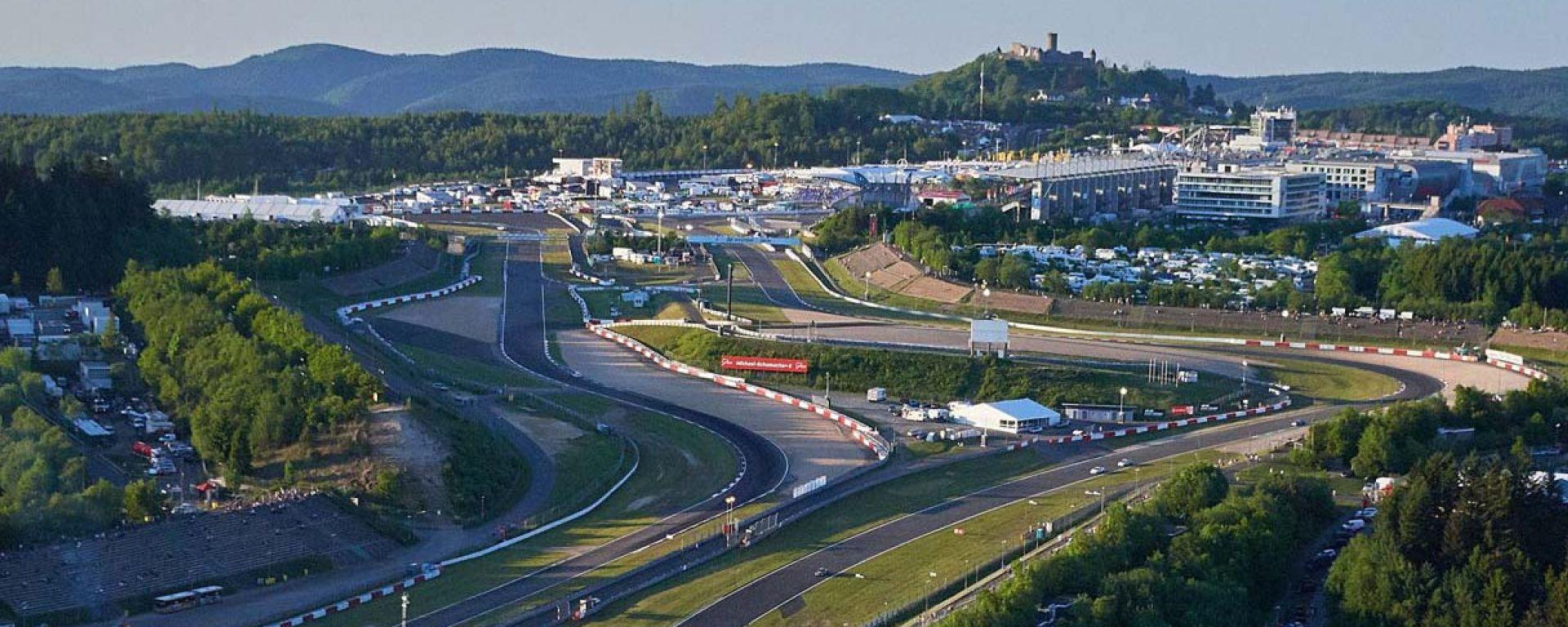 La pista del Nurburgring