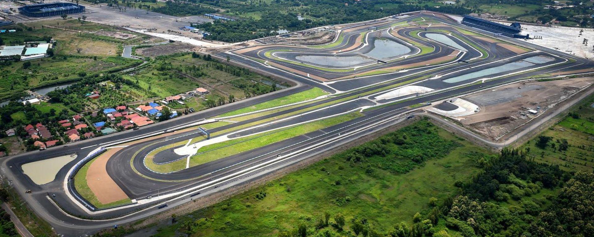 La pista di Buriram, Chang International Circuit, MotoGP Thailandia