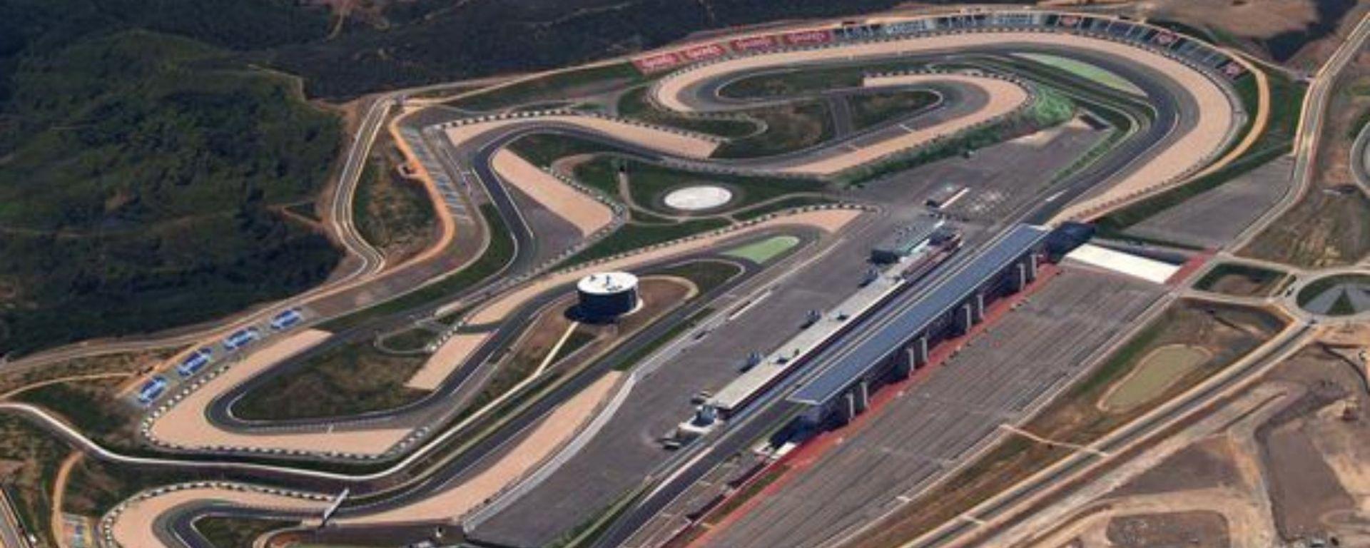 La pista di Portimao, Circuito do Algarve
