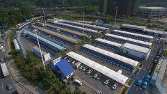 La più grande stazione di ricarica per auto elettriche è a Shenzhen, Cina meridionale