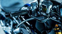 La pompa radiale del freno anteriore della Yamaha MT-09 SP