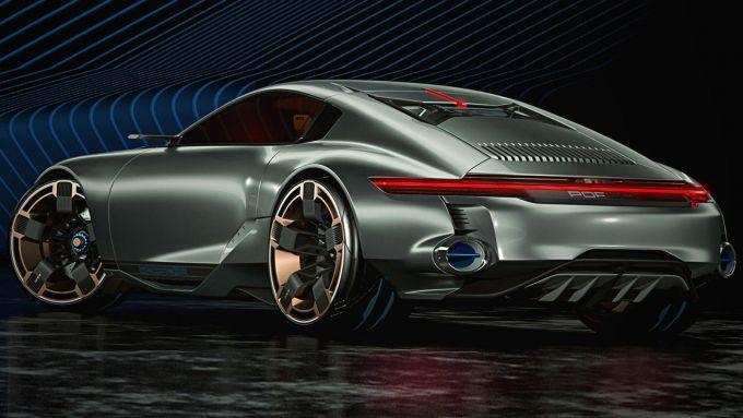 La Porsche 911 del futuro
