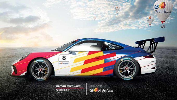 La Porsche 911 GT3 Cup del team Q8 Hi Perform sarà affidata a David Fumanelli nel 2020