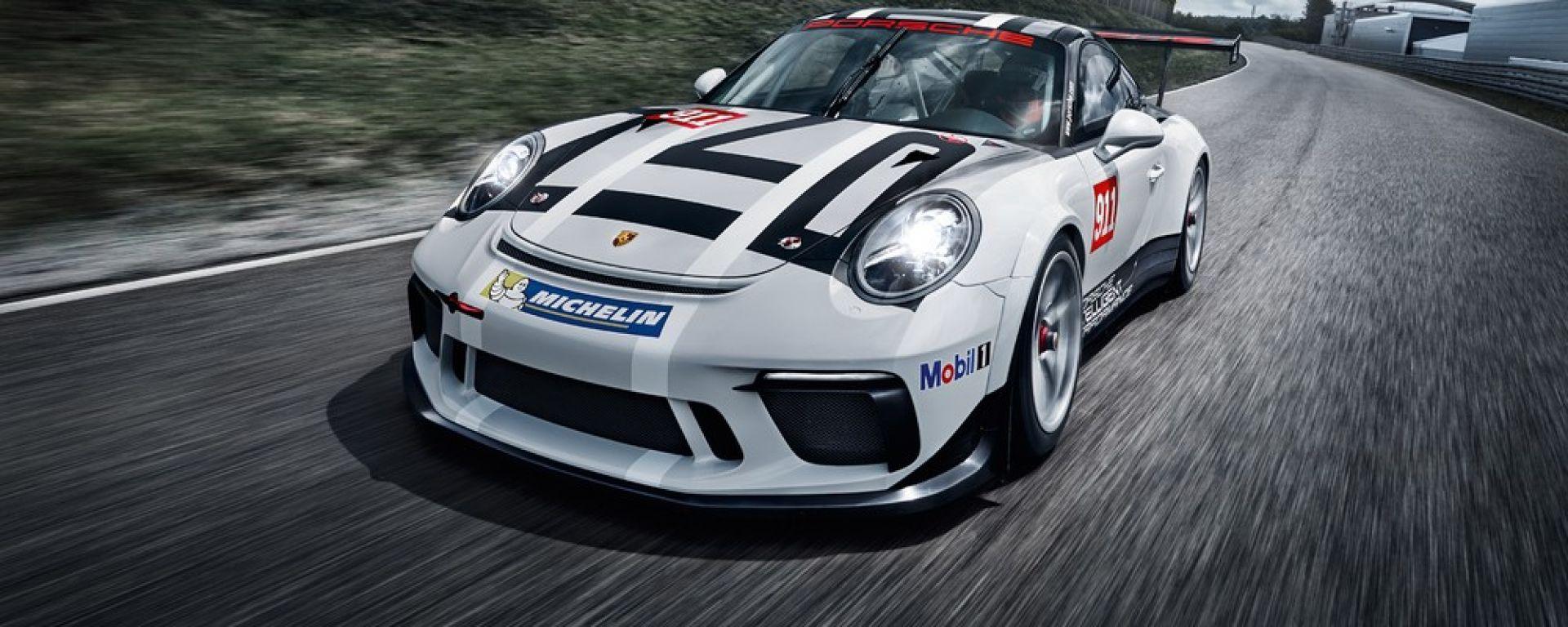 La Porsche 911 GT3 Cup sarà impegnata nella Porsche Mobil 1 Supercup