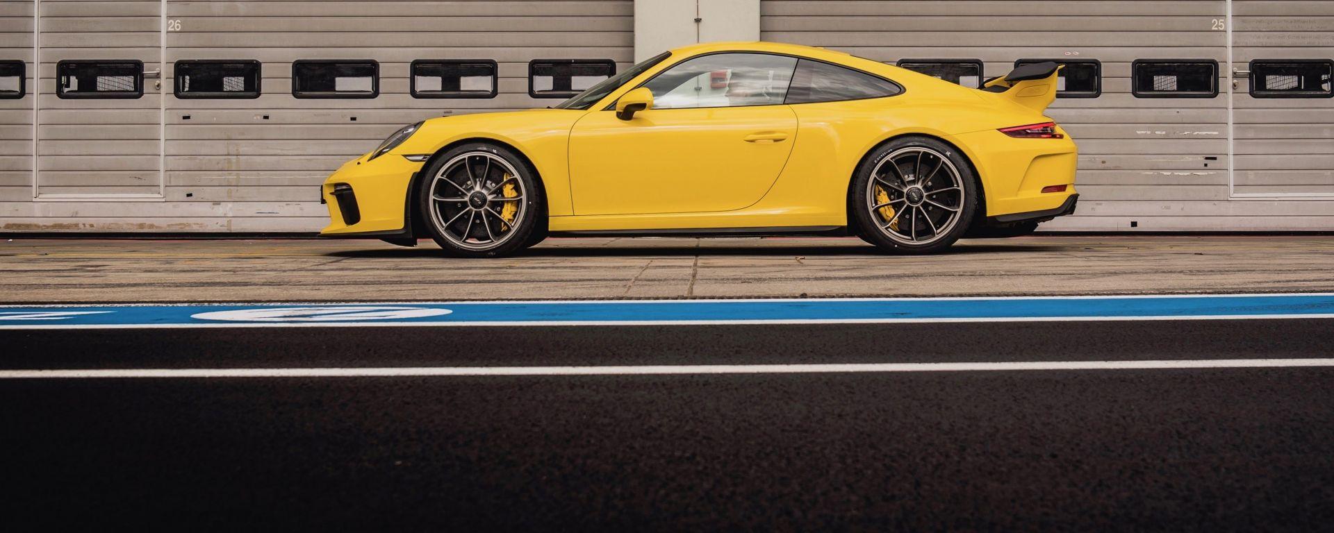 La Porsche 911 GT3 migliora il proprio record al Nurburgring