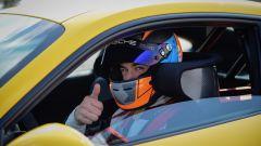 La Porsche 911 GT3 nel suo best lap è stata guidata dal pilota collaudatore Lars Kern