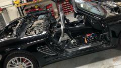 La Porsche Boxster S a pezzi, prima di diventare una Lykan Hypersport