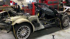 La Porsche Boxster S smontata
