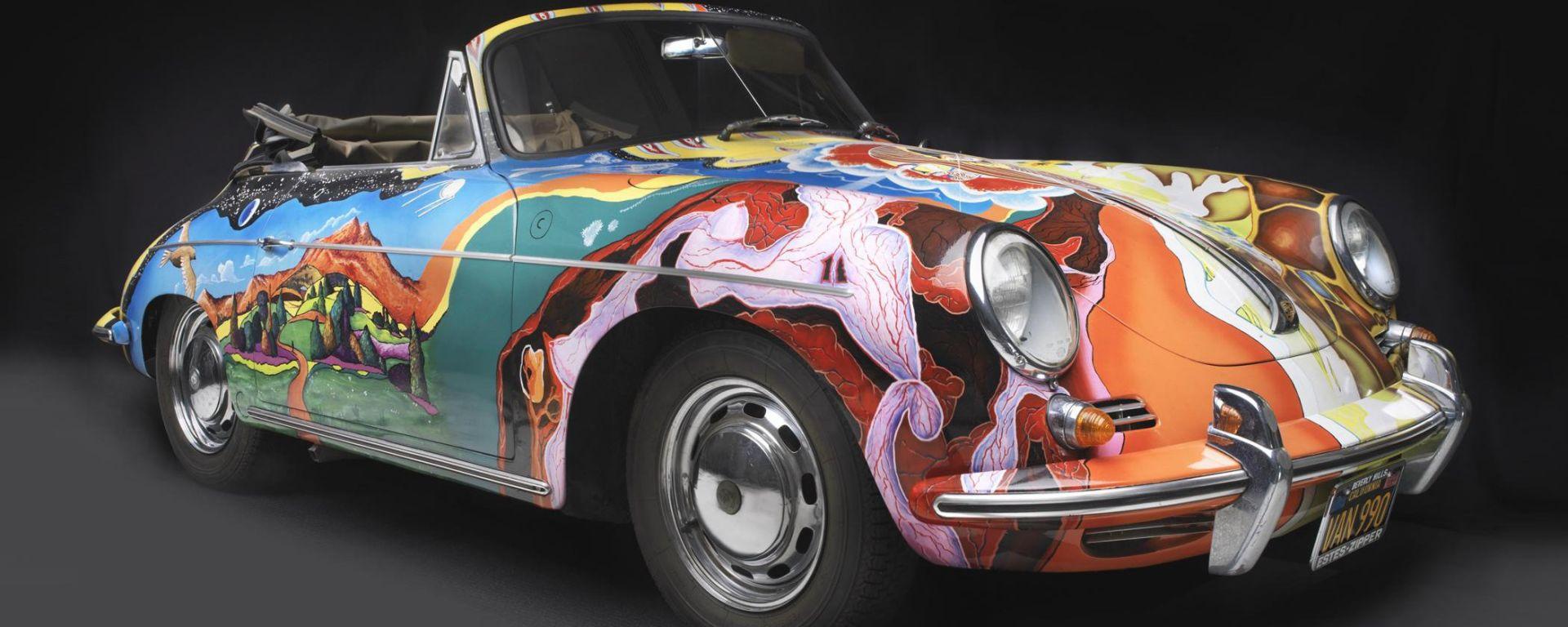 La Porsche di Janis Joplin battuta all'asta