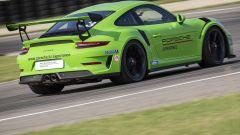 La Porsche GT3 RS: 520 CV e 320 all'ora di velocità massima