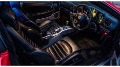 La postazione di guida della Ferrari Limousine