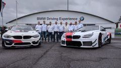 La presentazione del BMW Team Italia 2019 a Vallelunga