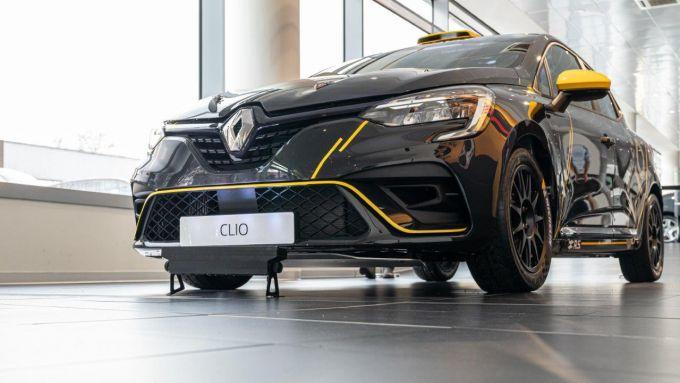 La presentazione della Nuova Renault Clio Rally