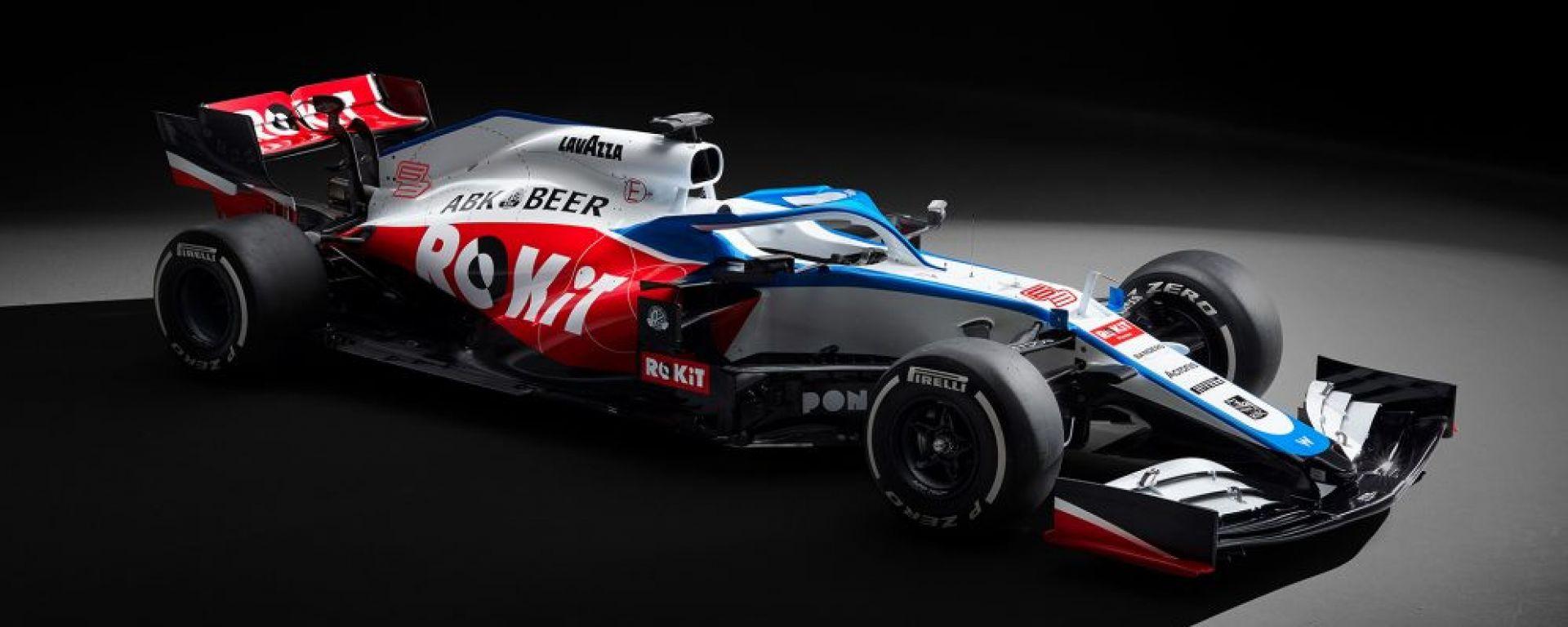 La presentazione della Williams 2020