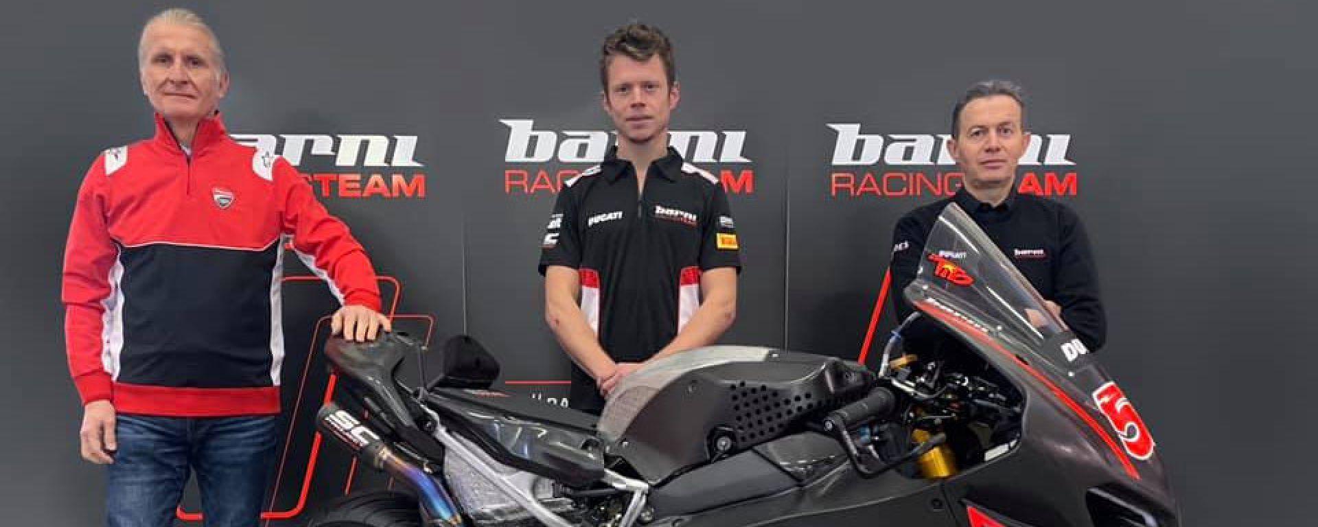 La presentazione di Tito Rabat come pilota Barni Racing Team WSBK 2021