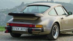 La prima Porsche 911 Turbo, serie 930: il caratteristico alettone
