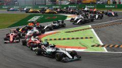 La Prima Variante dopo la partenza - GP Italia