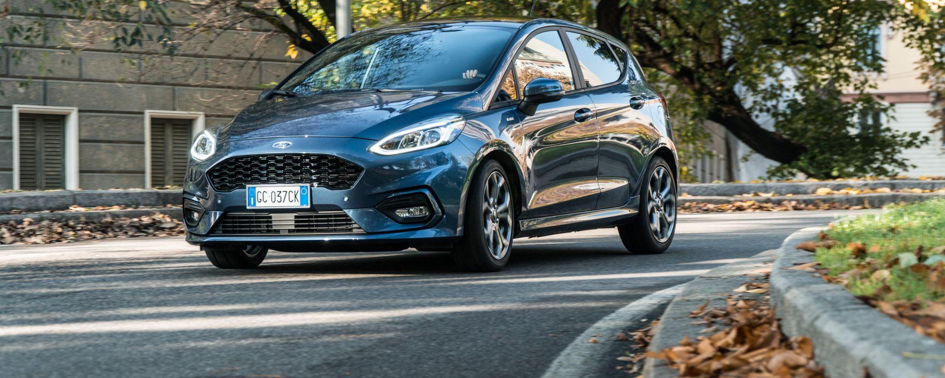 La prova della Ford Fiesta 1.0 mild hybrid