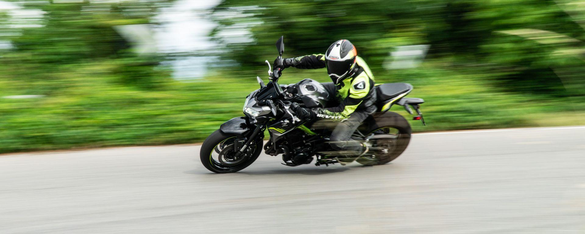 La prova della Kawasaki Z900