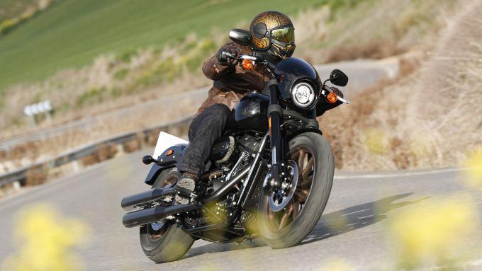 La prova della Low Rider S in Andalusia