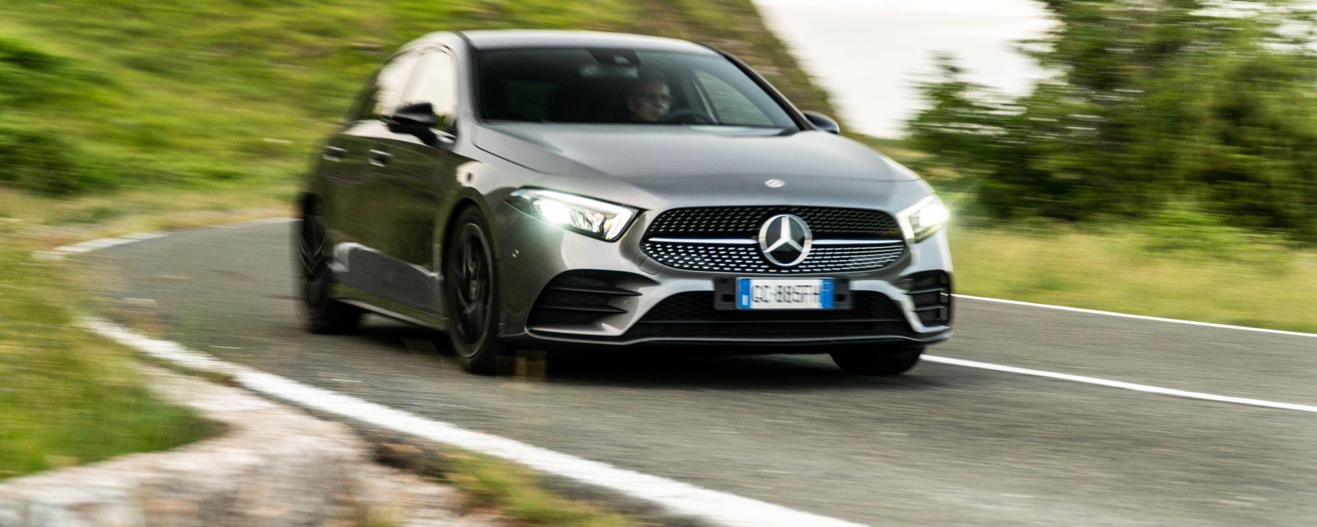 La prova della Mercedes Classe A180d
