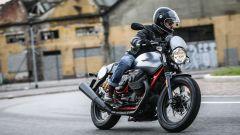 La prova della Moto Guzzi V7 III Racer