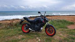 La prova della Yamaha MT-07 2021 in Puglia