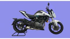 La QJ350 di Qianjiang Motorcycle