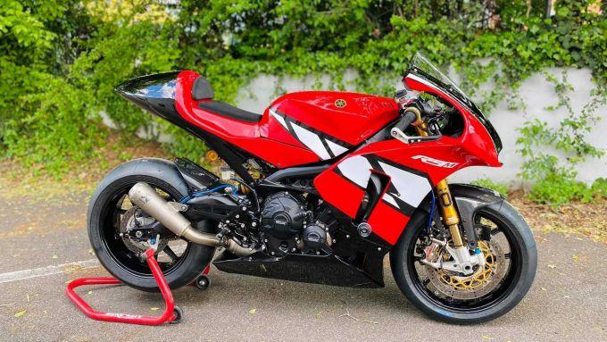La R9M derivata dalla Yamaha Tracer 900 GT