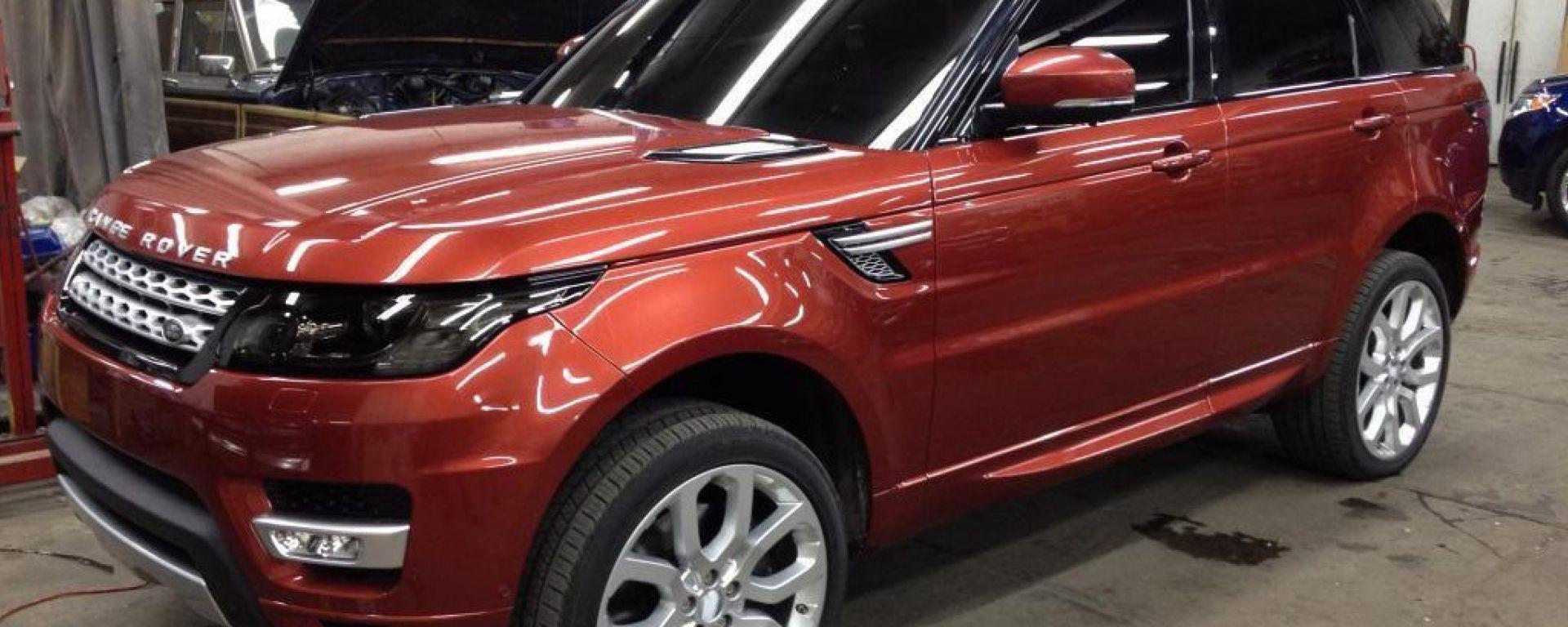 Range Rover Sport 2014 a nudo