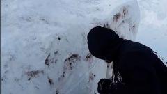La realizzazione della LaFerrari fatta con la neve in Lituania