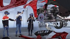 La realtà virtuale di Kia e Hyundai permetterà il lavoro in contemporanea di un team di venti persone