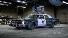 La replica della Bluesmobile dei Blues Brothers by Razorfly Studios
