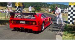 La replica della Ferrari F40 ad opera di Steve Cox