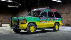 La replica della Jeep di Jurassic Park by Razorfly Studios