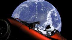 La Roadster di Elon Musk spedita su Marte