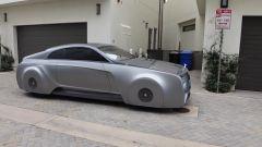 La Rolls-Royce Wraith customizzata vista di lato