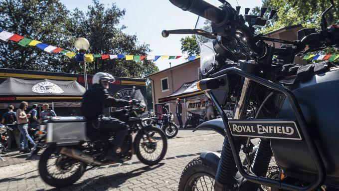 La Royal Enfield Himalayan è tra le protagoniste del Royal Enfield Italian Festival