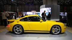 La RUF Yellowbird 2017: vista laterale