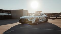 La Safety Car Mercedes 2020 con livrea arcobaleno #WeRaceAsOne