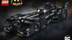 La scatola del set della Batmobile LEGO